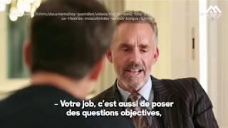 Comment un média français monte et traduit une interview avec Jordan Peterson.