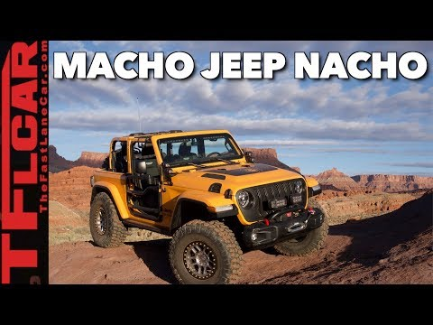 When a New Wrangler JL Just Isn't Enough Jeep: Meet Jeep Nacho!