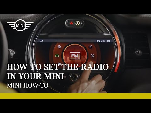 How to set the radio in your MINI |  MINI How-To