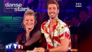 DALS S02 - Une samba avec Sheila et Julien Brugel sur ''Conga'' (Gloria Estefan)
