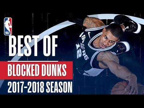 Best of Blocked Dunks | 2017-2018 NBA Season