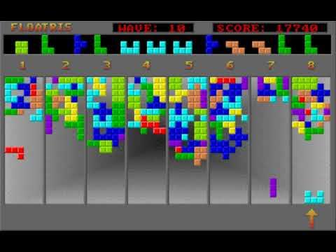 Floatris (Data Wave) (MS-DOS) [1993] [PC Longplay]