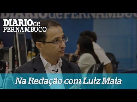 Na Reda��o com o professor de economia Luiz Maia