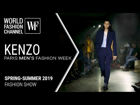 Kenzo spring-summer 2019 Paris men's fashion week
