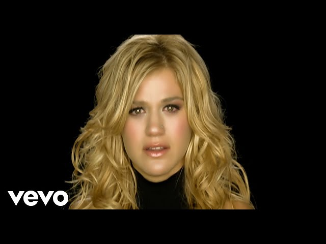 "Video de ""Because of you"" de Kelly Clarkson"