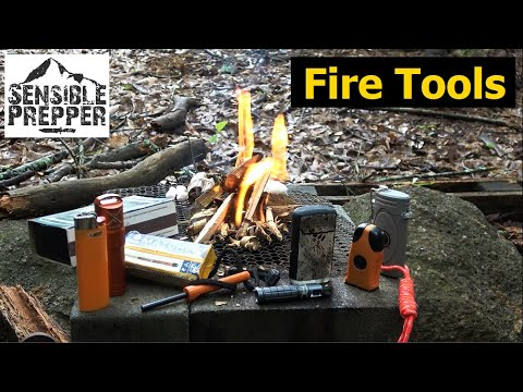 Fire Starting Tools for Survival