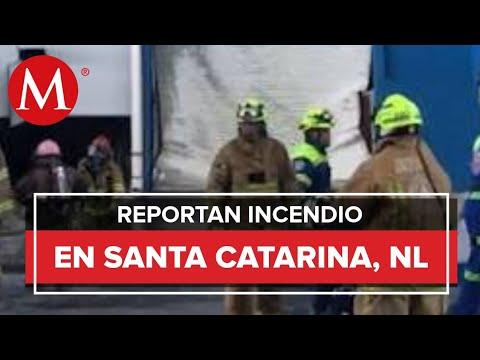 PC Nuevo León reporta incendio en Santa Catarina