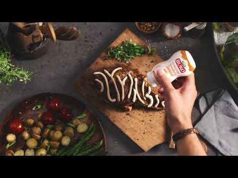 Steak im Zebra-Style mit Arla Buko Frischkäsecreme