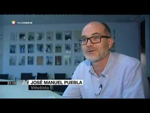 Entrevista a Puebla, autor de Si no fuera por estos raticos, en Telemadrid