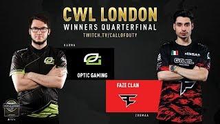 Optic Gaming vs FaZe Clan | CWL London 2019 | Day 2