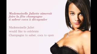 "Alizée - ""Mademoiselle Juliette"" (with French & English Lyrics) HD"