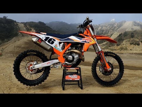 First Ride 2020 KTM 450SXF Factory Edition - Motocross Action Magazine