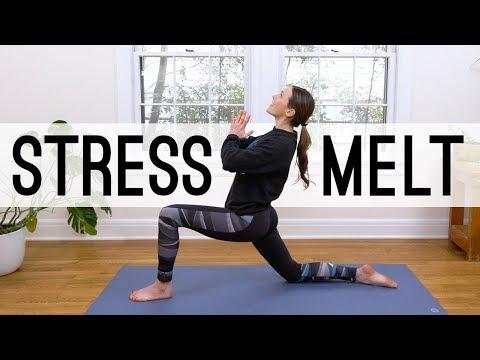 Stress Melt - 26 Min Yoga Break  |  Yoga With Adriene