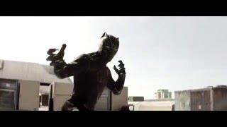 【打戲】美隊3:黑豹大戰冬兵 電影精華 #2