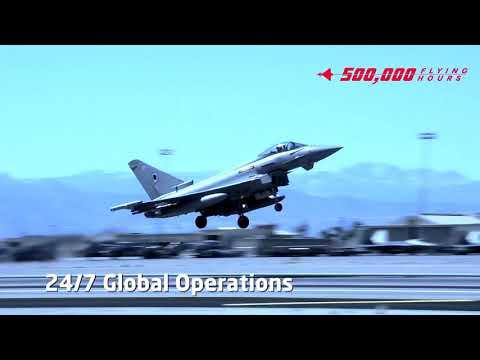 Eurofighter Fleet Passes 500,000 Flying Hours