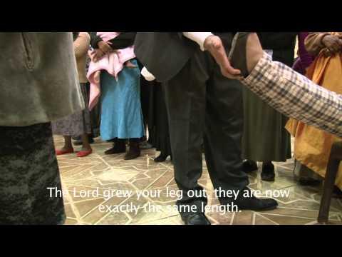 Short leg grows out! REVIVAL! ministries South Africa Johann van der Hoven