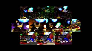 All Shadow the Hedgehog endings at the same time