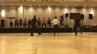 Pom Poms Line Dance by Fred Whitehouse, Guillaume Richard & Daniel Trepat @WCLDM 2016