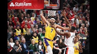 JaVale McGee Lakers 2018-19 Highlights Mix