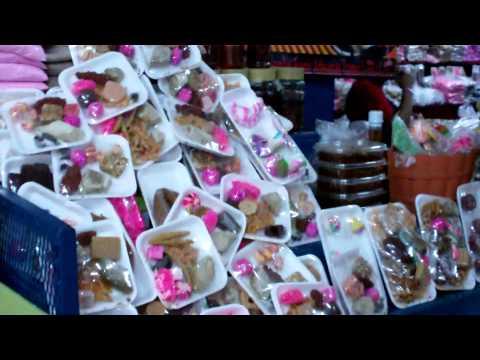 Rosquillas y Cajetas en Mercado Roberto Huembes, Nicaragua