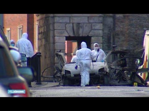 Beelden autobom: zo kroop Noord-Ierse stad door oog van de naald - RTL NIEUWS