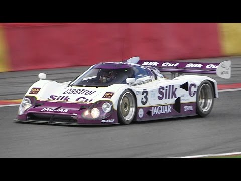 1990 Jaguar XJR-12 Group C – V12 Engine Sound at Spa Classic 2017