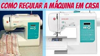 DICA: Como acertar a tensão da linha na máquina de costura - Como regular a máquina
