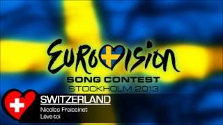Nicolas Fraissinet - Lève-toi (Eurovision 2013 Switzerland)