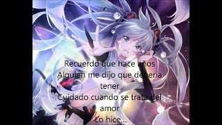 nightcore-impossible (letra/lyrics en español/inglés)