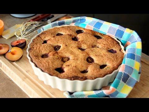 СУПЕР ПИРОГ со сливами | можно с любыми фруктами и ягодами! | любимый американский пирог