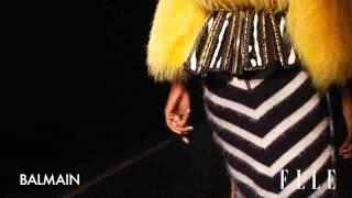 Balmain. Paris Fashion Week otoño invierno 2014/2015