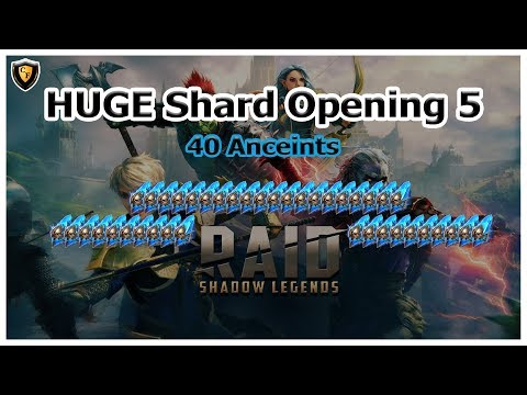 RAID: Shadow Legends - HUGE Shard Opening 5