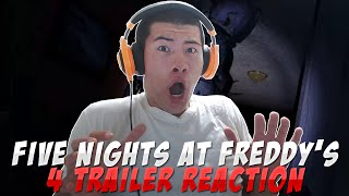 FNAF 4 OFFICIAL TRAILER REACTION | FNAF 4 TRAILER OFFICIAL | Five Nights At Freddy's 4 TRAILER VIDEO