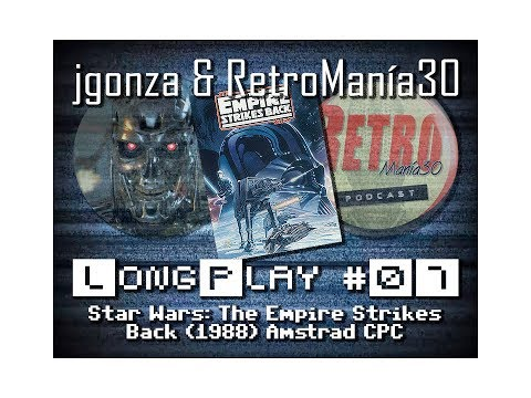 El Imperio Contraataca - Amstrad CPC Longplay