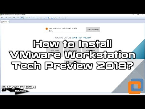 VMware Installation Video