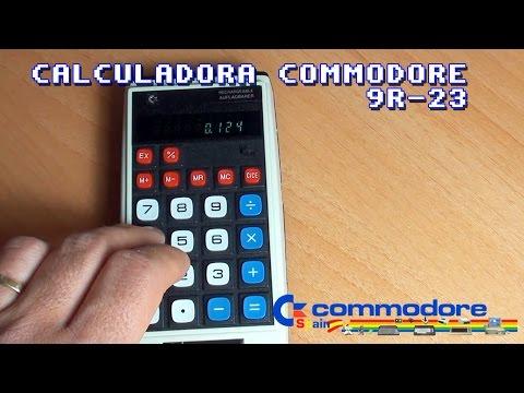 Calculadora Commodore 9R-23 Recargable (Equipo con más de 40 años)
