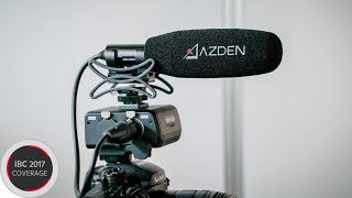 The New Azden SGM-250CX Provides Compact Directional On-Camera Sound