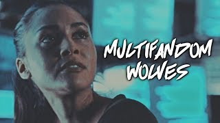 Multifandom  - Wolves - Multicollab