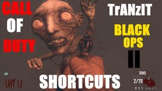 Black ops II: Tranzit Shortcuts