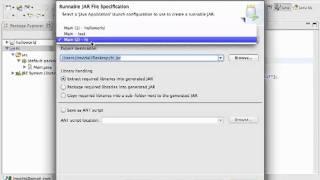 Eclipse JAR export: Publishing your Java Program Tutorial width=
