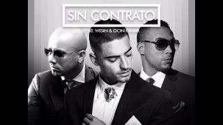 Maluma - Sin Contrato (Remix)[Letra] ft. Don Omar, Wisin