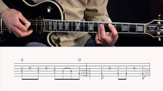 "Lynyrd Skynyrd ""Gimme Three Steps"" Guitar Lesson @ GuitarInstructor.com (preview)"