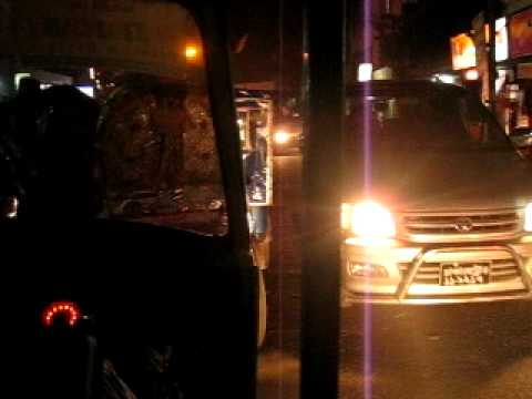 Bangladesh Dhaka night trafic 6 of 7