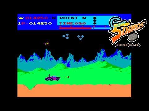 """MOON PATROL  - """"CON 5 DUROS"""" Episodio 602 (+ver MSX) (1cc) (1 loop) (CTR)"""