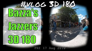 180 3D VR video from Market Square Lancaster UK - Bazza's Jazzers