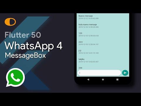 Flutter 50: WhatsApp 4
