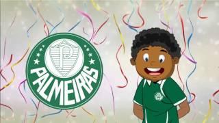 Futebol Palmeiras/SP - Clipe Animado da Turma do Tião Camaleão :)