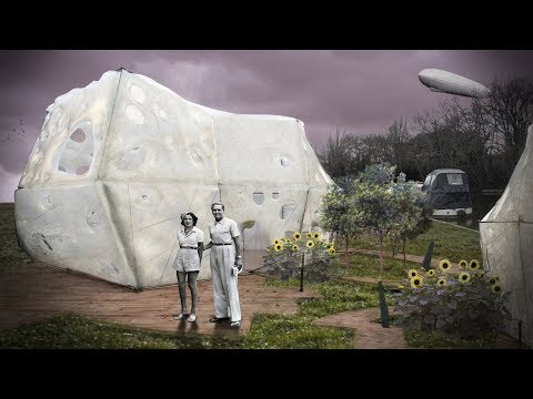 Cocoon BioFloss concept material enables residents to grow their own homes | Architecture | Dezeen