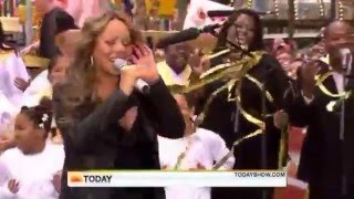 Mariah Carey -- I Want To Know What Love Is Today Show (Dubbed my Whistle)