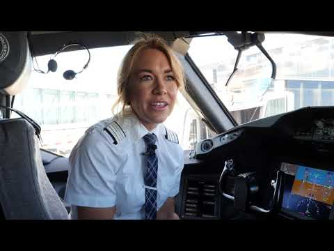 This is Your Captain Speaking: Captain Jessica Sundquist Ahlberg.